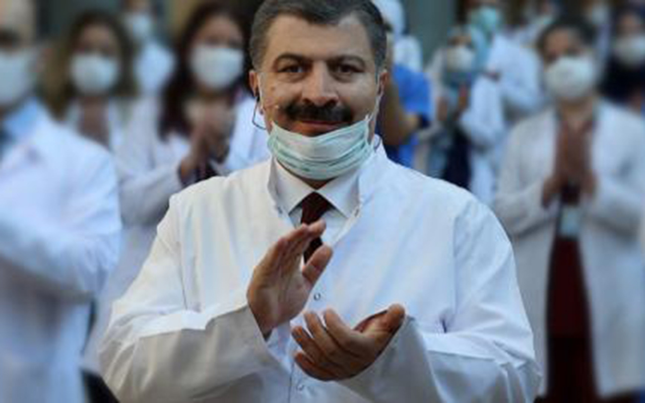 """Sağlık Bakanı Fahrettin Koca """"Kötü örneğe son kez bakın"""" deyip değiştirdi"""