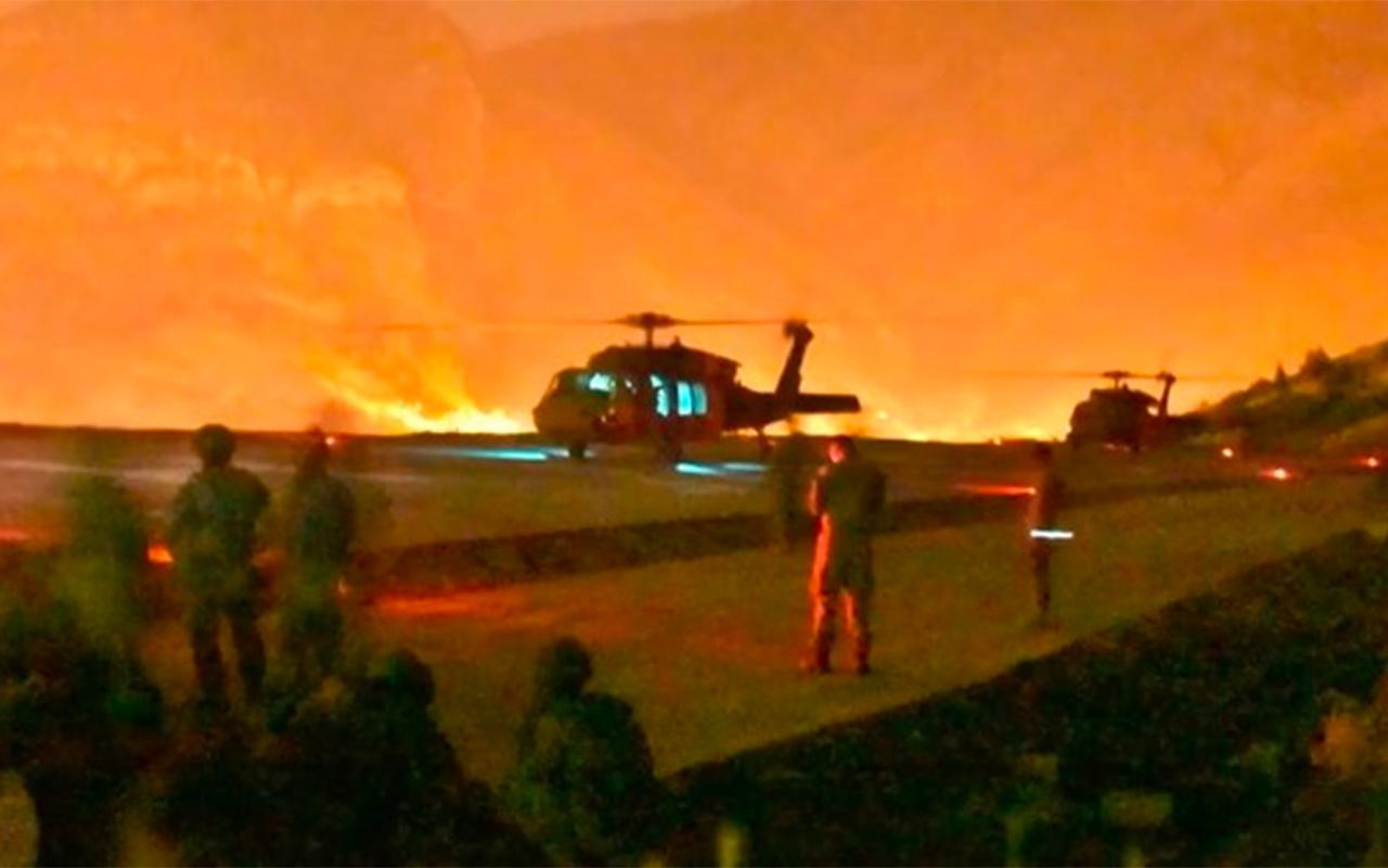 Pençe-Kaplan Operasyonu! Komandolar Haftanin'e girdi