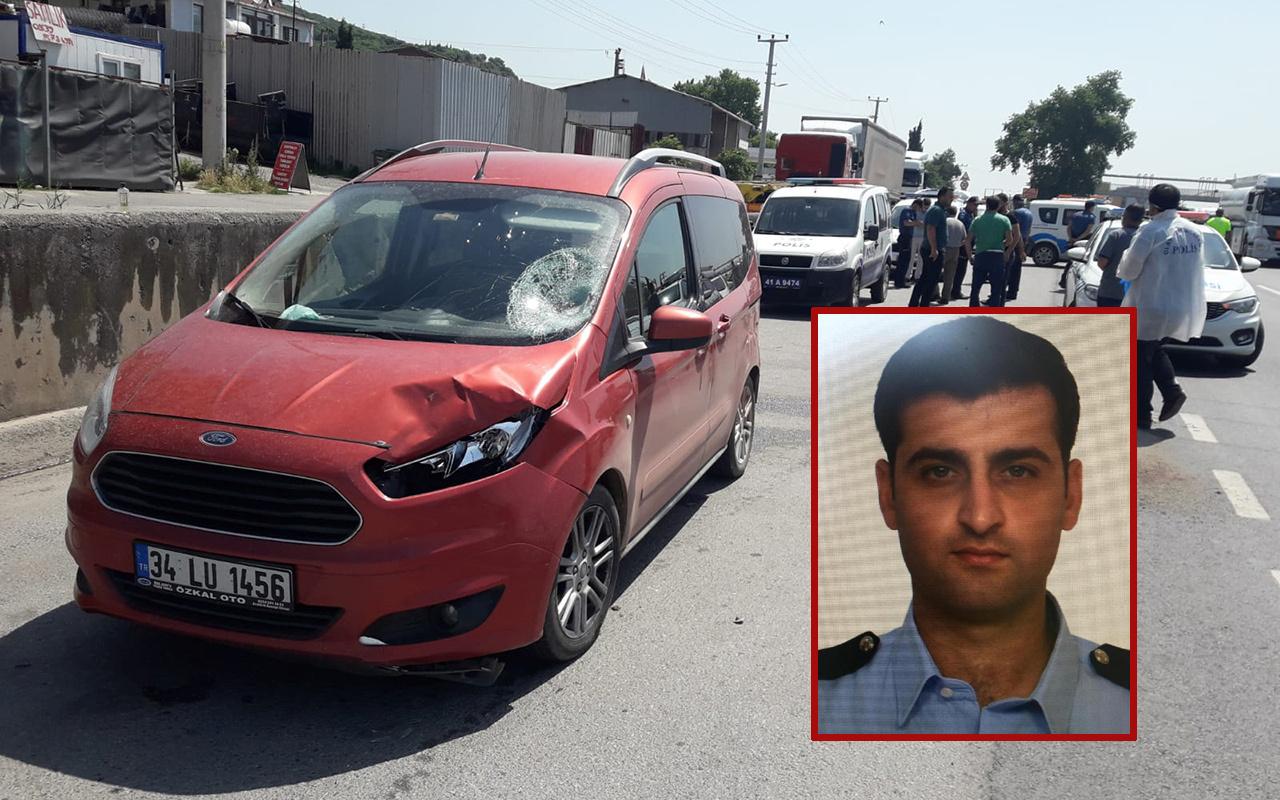 Kocaeli'de denetimde aracın çarptığı trafik polisi şehit oldu