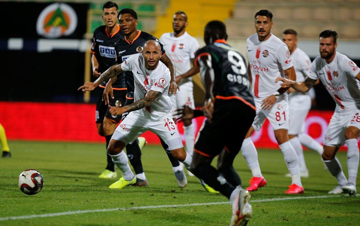 Alanyaspor Antalyaspor Türkiye kupası yarı final maçı golleri ve geniş özeti