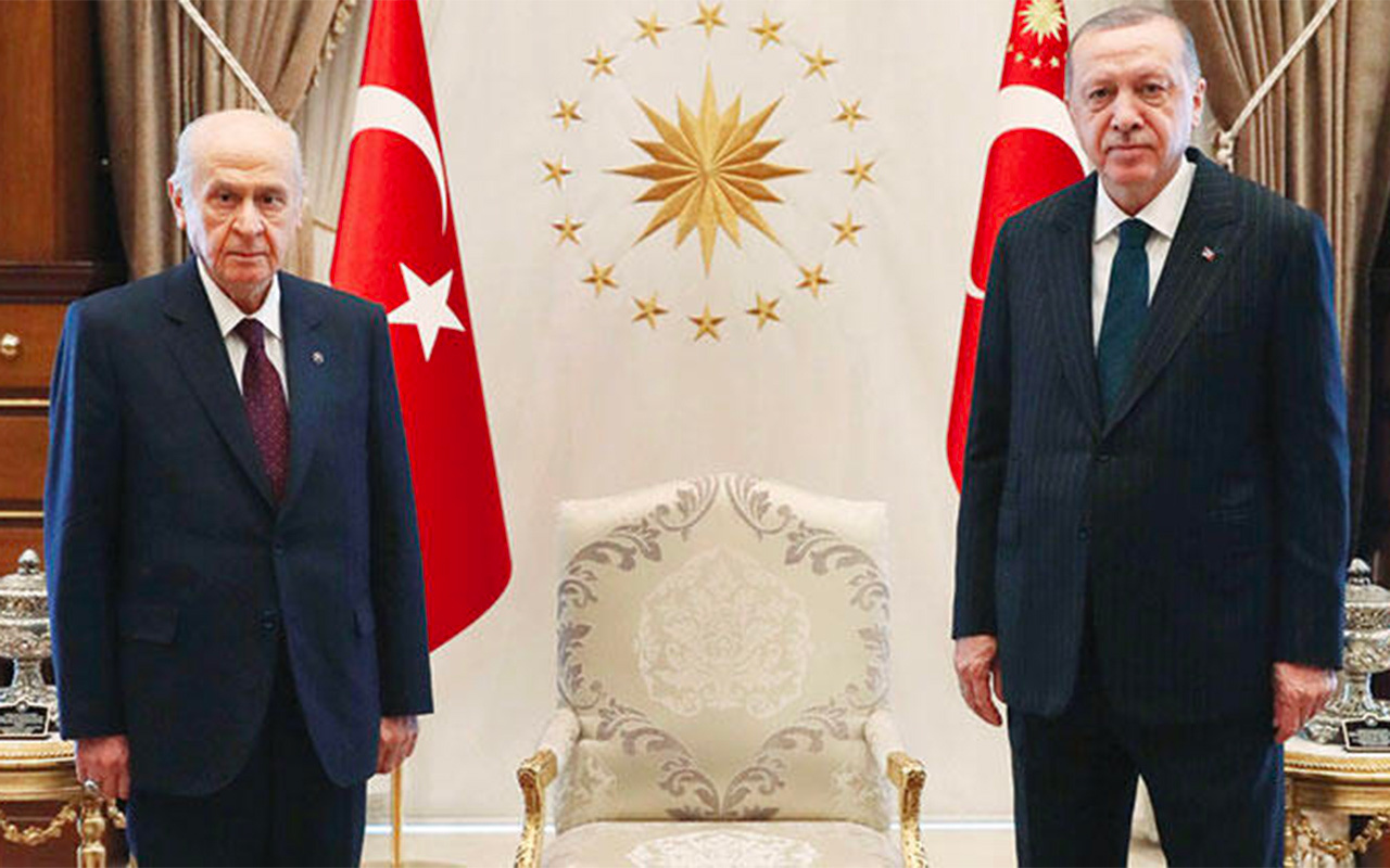 Erdoğan ile Bahçeli görüşmesinde masaya gelen 8 kritik başlık