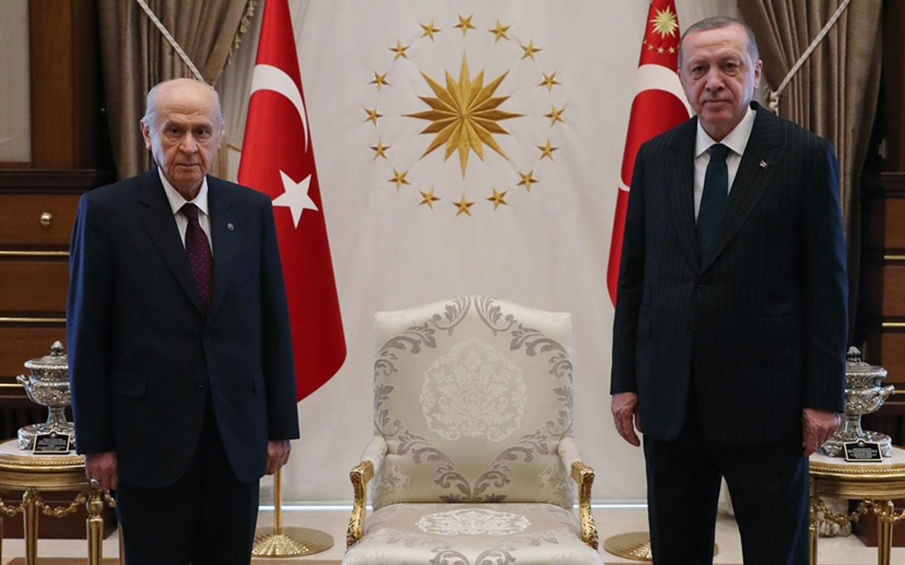 Erdoğan ve Bahçeli seçim tarihi için anlaştı