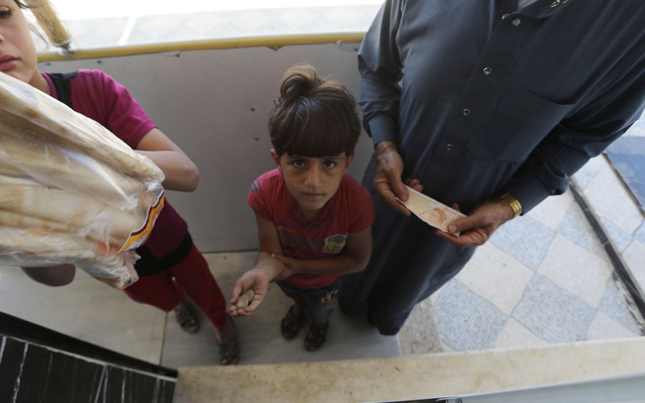 Fırat Kalkanı Harekatı sahasında halk Türk lirasını tercih ediyor