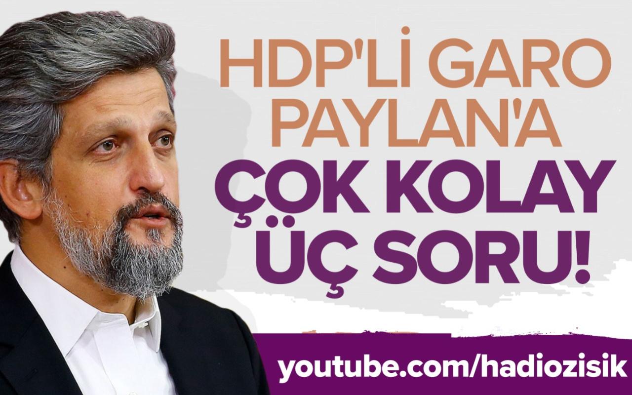 HDP'li Garo Paylan'a Cüneyt Özdemir üç kolay soru sordu!