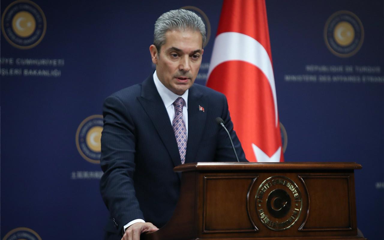 Dışişleri Bakanlığı: Kıbrıs Türklerini yok sayan teklif ciddiyetten uzak