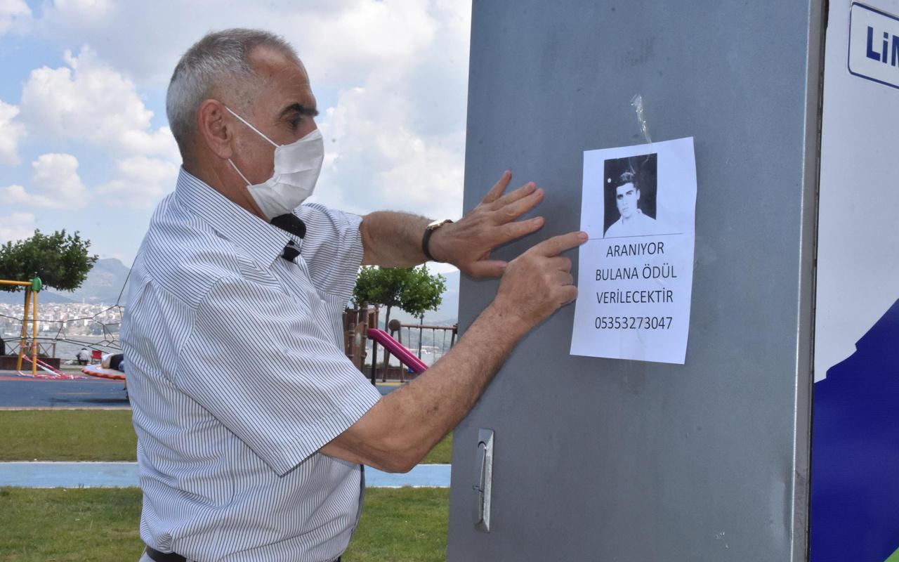 İzmir'de 18 yıl önce kaçırıldı! Babası kapı kapı gezip ilan asıyor bulana ödül verecek