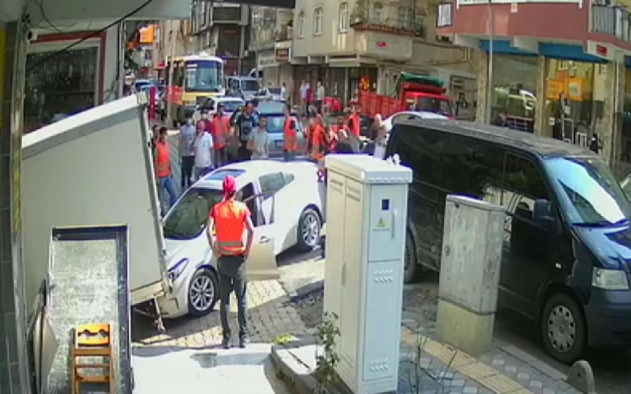 'Dur' ihtarına uymayıp kaçmaya başladılar! İstanbul'da hareketli dakikalar