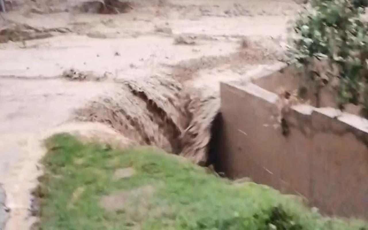 Sel felaketi İznik ilçesini de vurdu