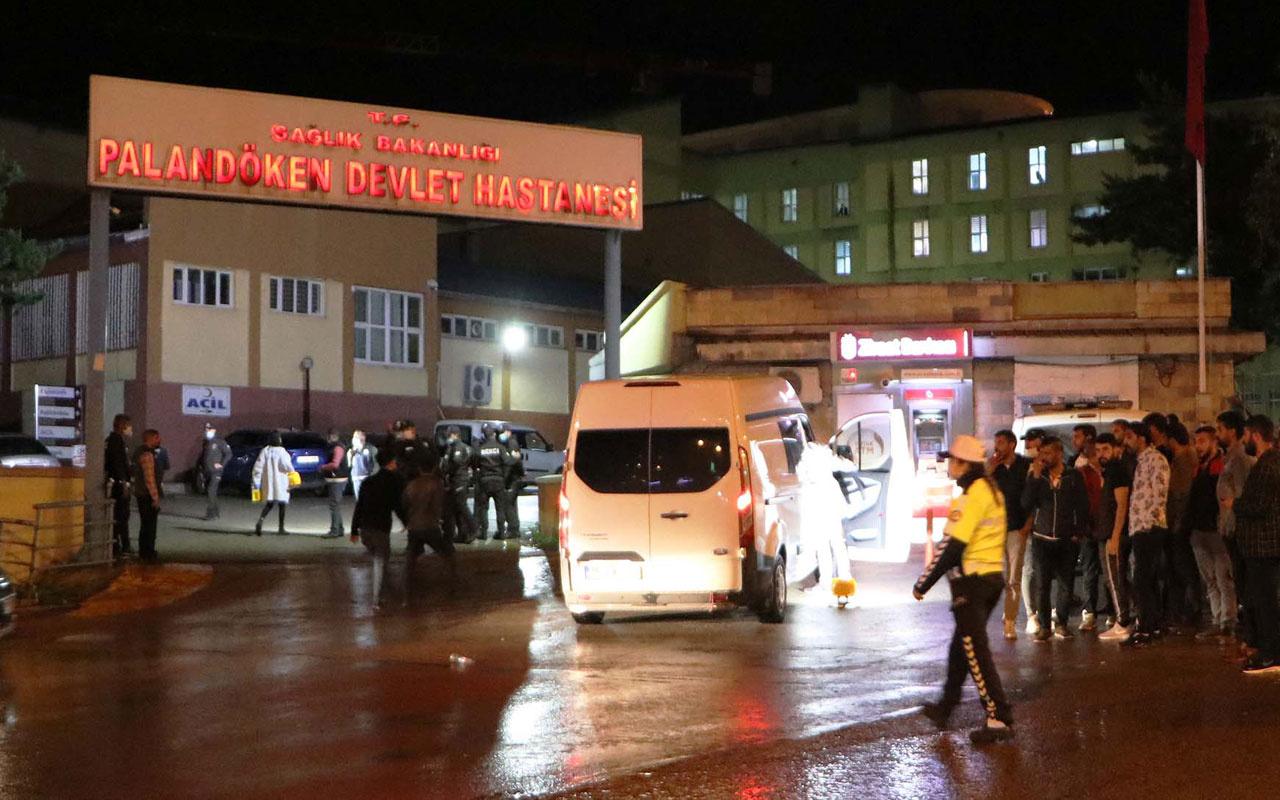 Erzurum'da hastanede silahlı kavga dehşeti: 1 ölü 6 yaralı