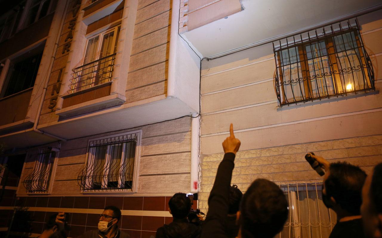 Sultangazi'de 3 bina çatlaklar nedeniyle tahliye edildi