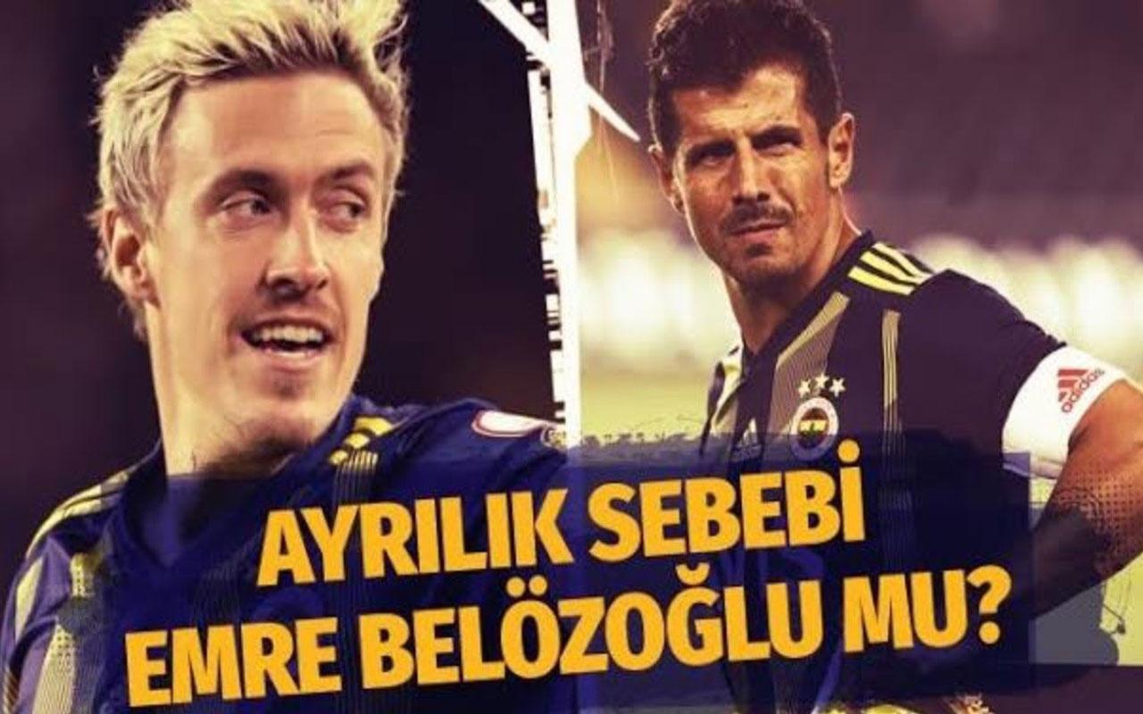 Max Kruse Fenerbahçe'den Emre Belözoğlu yüzünden mi ayrıldı?