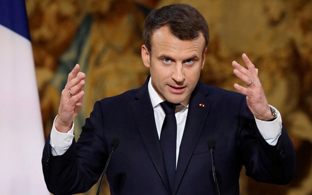 Macron'dan densiz açıklama: Türkiye'nin Libya'da üstlendiği role müsaade etmeyiz