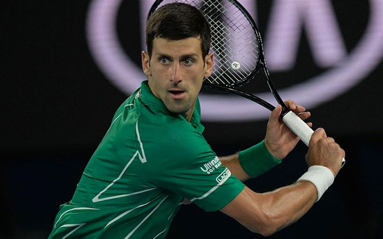 Sır tenisçi Novak Djokovic'in koronavirüs testi pozitif çıktı