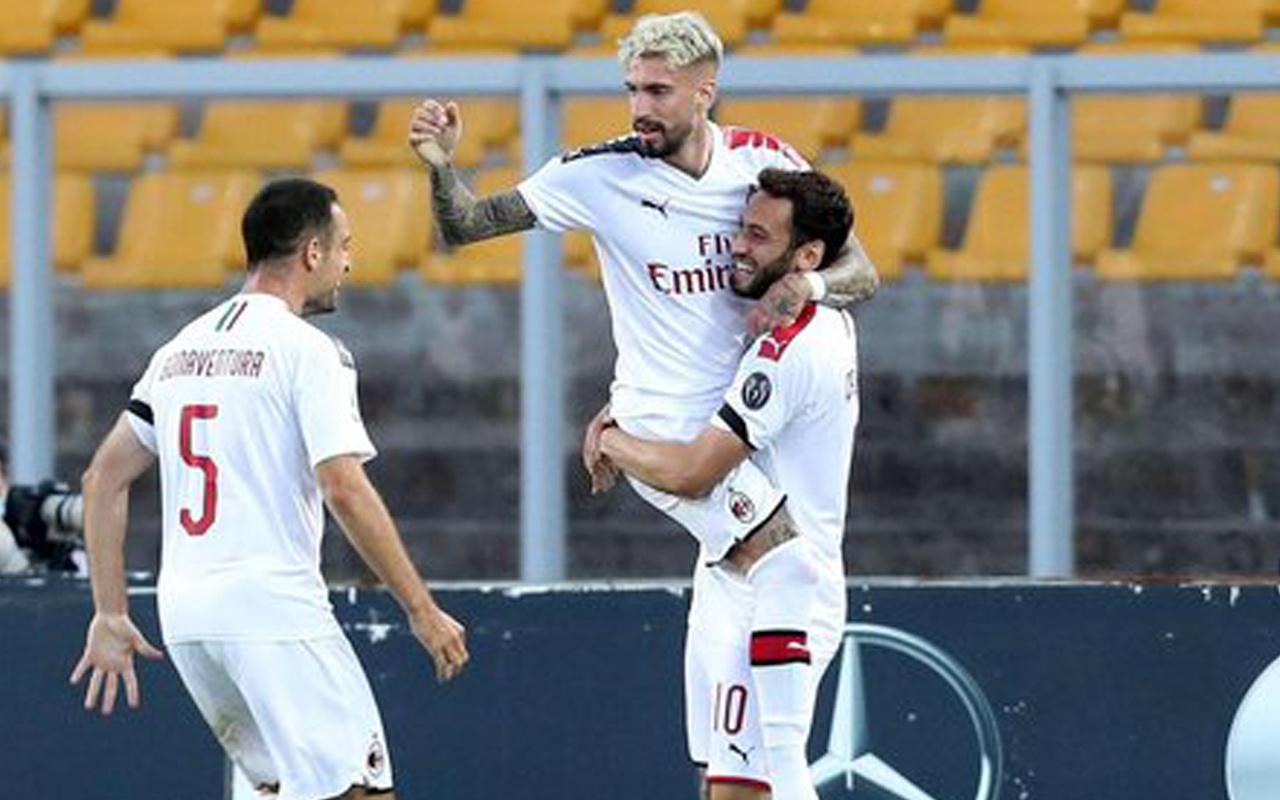 Çalhanoğlu'ndan asist geldi Milan farklı kazandı