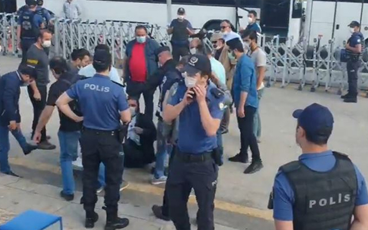 Baro başkanlarının oturma eylemi ikinci günde! Bilecik Barosu Başkanvekili gözaltına alındı