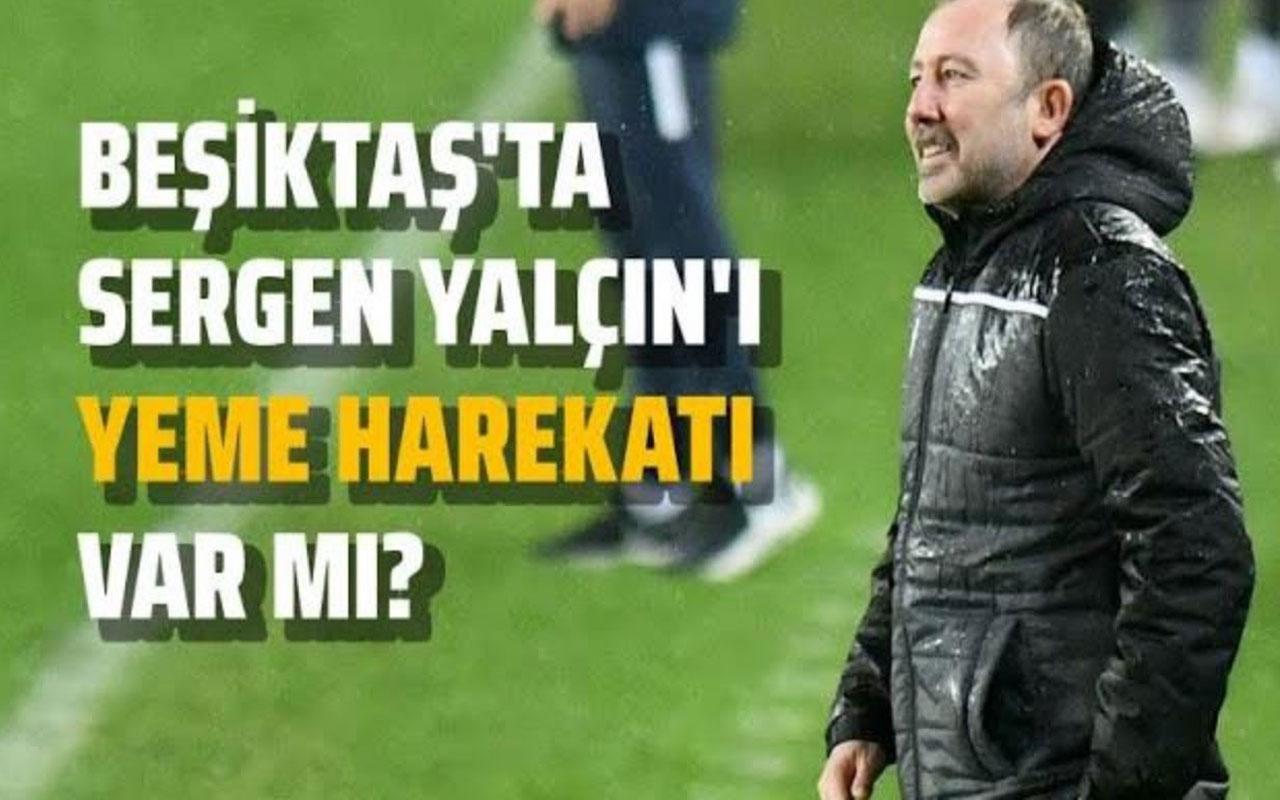 Beşiktaş'ta neler oluyor? Sergen Yalçın'ı yemek isteyenler mi var?