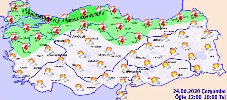 İstanbul dahil 10 il için kuvvetli yağış uyarısı! Bu saatlere dikkat