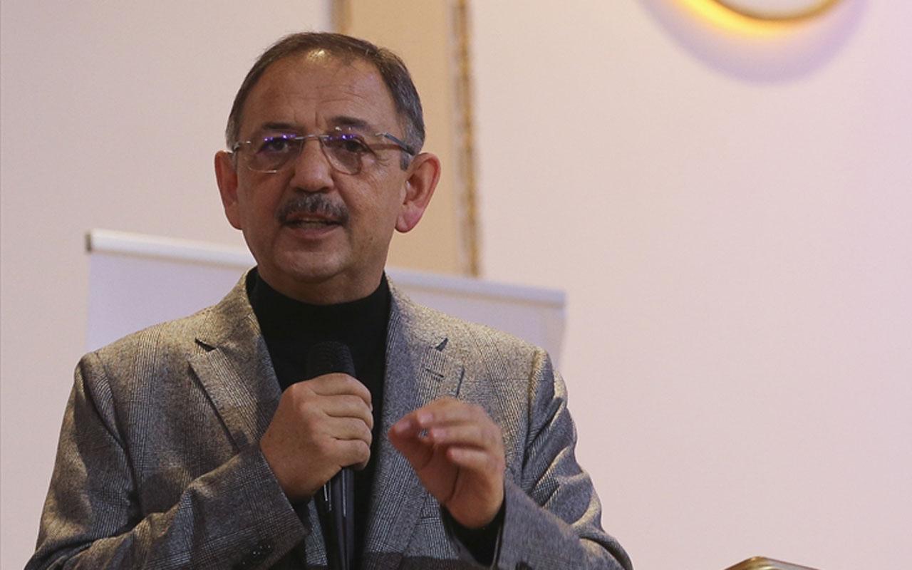 Mehmet Özhaseki'den AK Partili belediyelerin çalışmalarına ilişkin açıklama