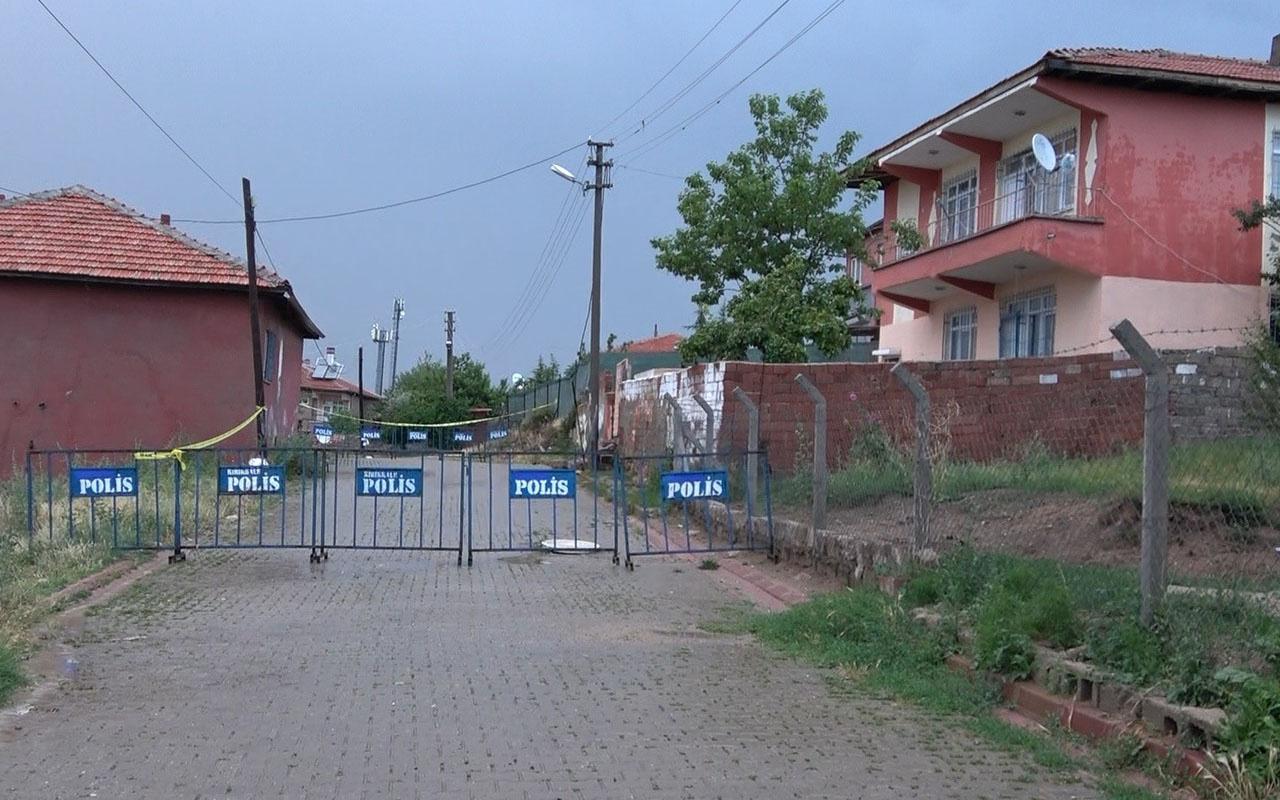 Kırıkkale'de 33 kişinin yaşadığı iki ev karantinaya alındı