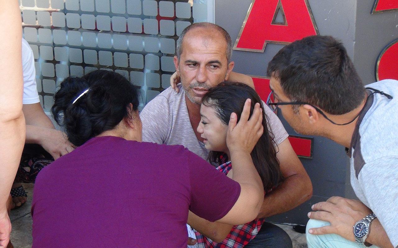"""Kazada yaralanan 8 Yaşındaki Azra'nın feryadı """"Baba benim elimi bırakma"""""""