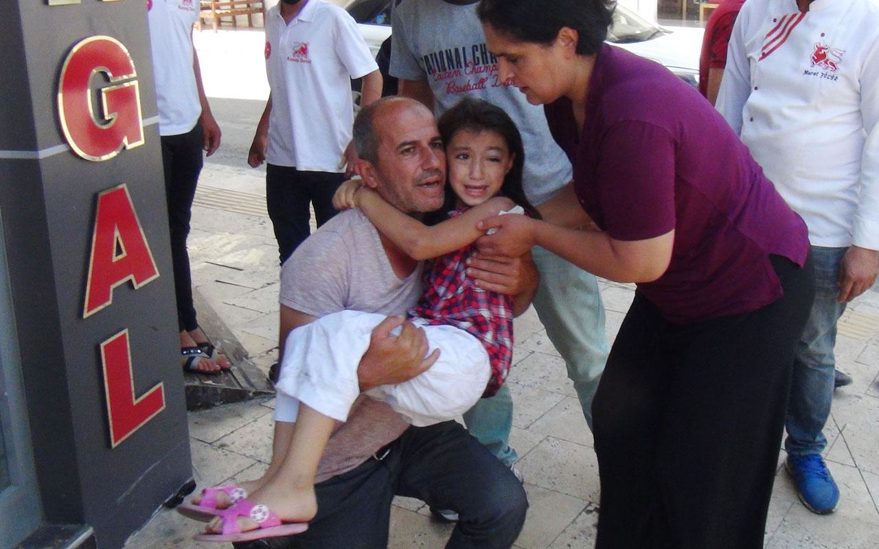 Antalya'da ağlatan kaza! Azra'nın 'Baba benim elimi bırakma' feryadı