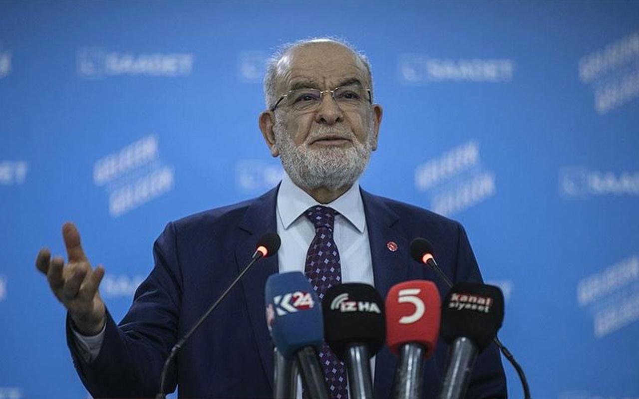 Millet İttifakında bir çatlak daha! Karamollaoğlu'ndan Erdoğan'a Libya desteği