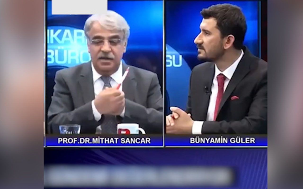 """HDP'li Mithat Sancar'dan """"PKK ile ilişkimiz yok"""" açıklaması"""
