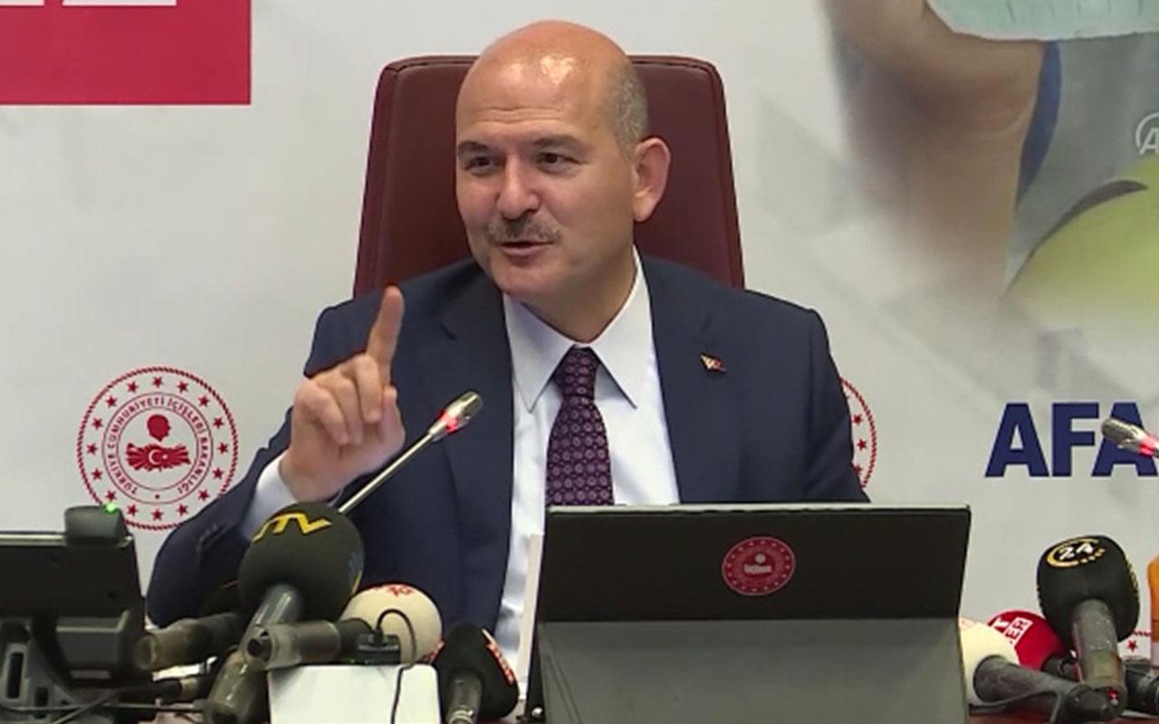 İçişleri Bakanı Süleyman Soylu, eşiyle birlikte İdlib'te 20 tane ev yaptırıyor