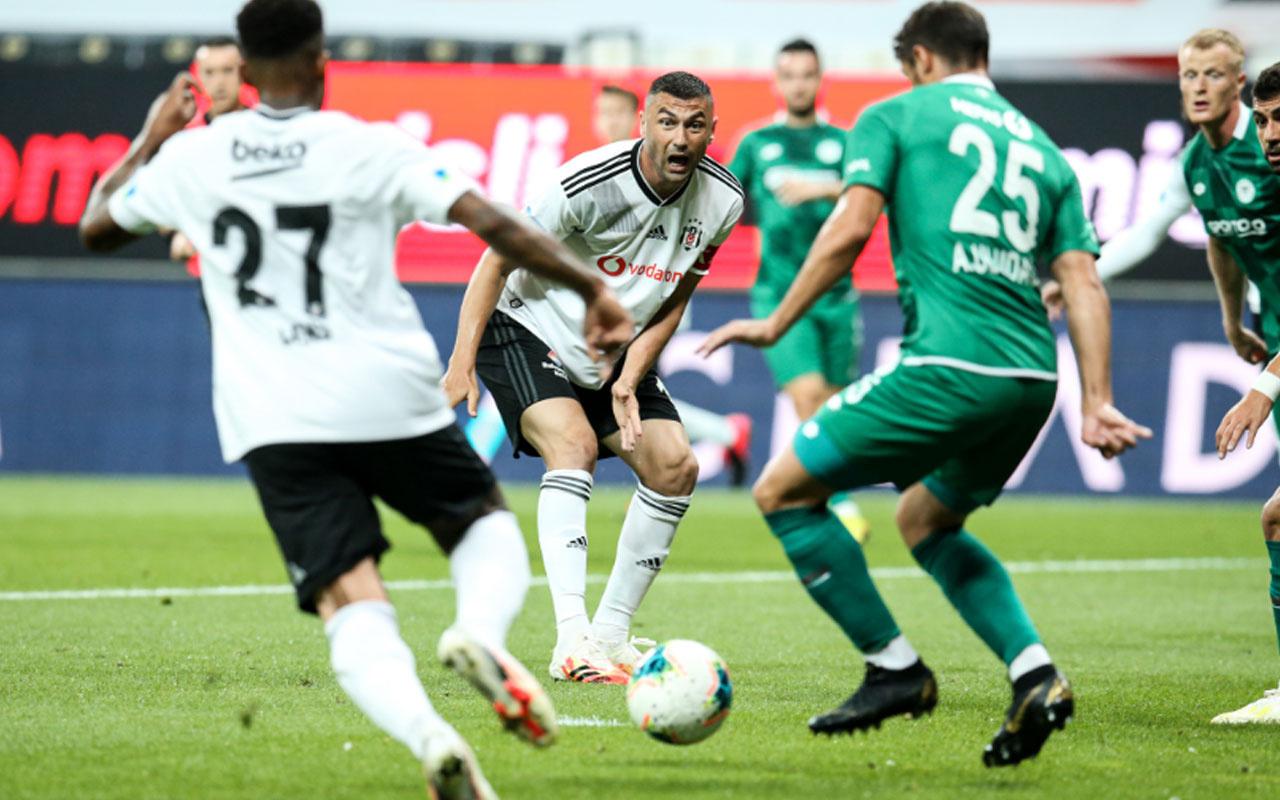 Beşiktaş Konyaspor Süper Lig maçı özet ve golleri