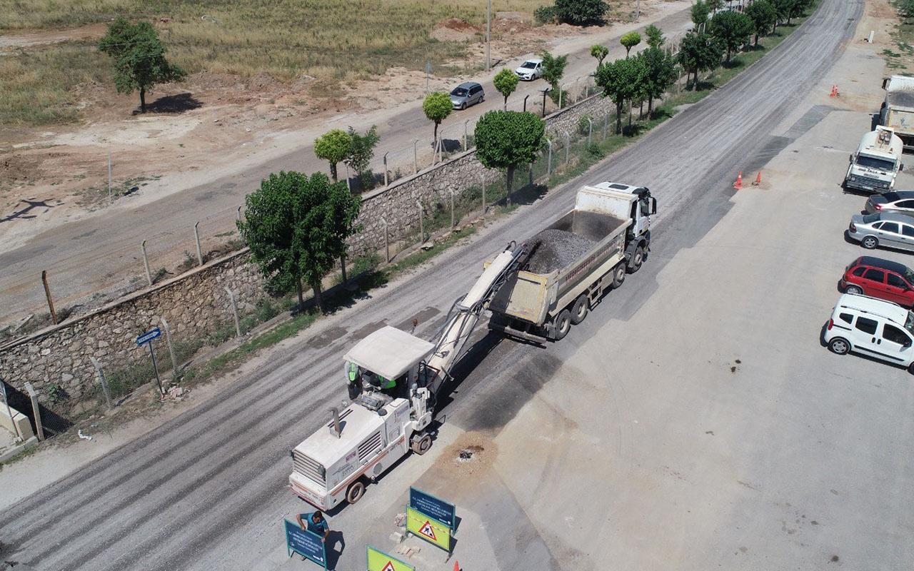 Denizli'de 3 bin kamyon dolusu toprak geri dönüştürülüyor
