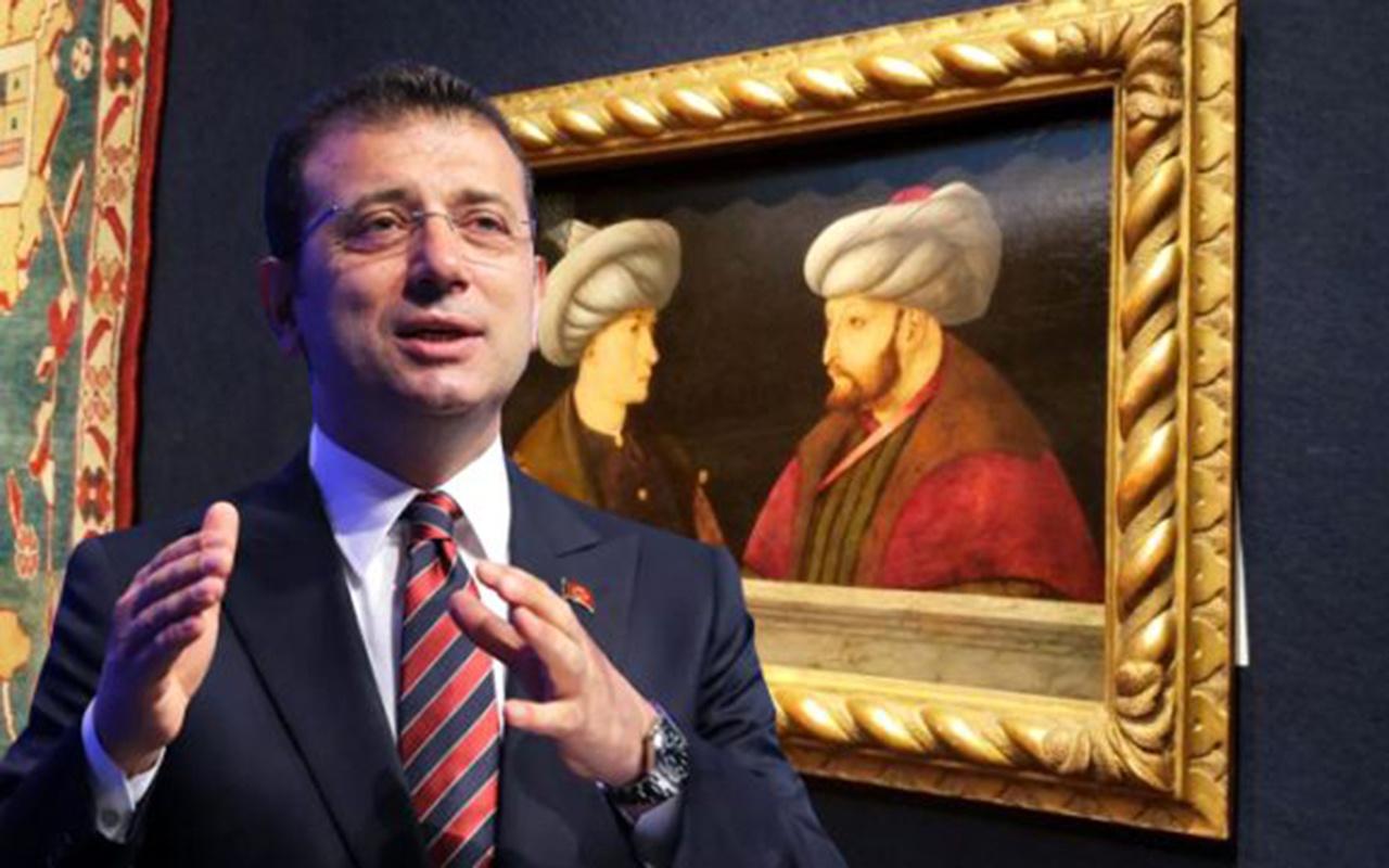 Fatih portresine 'sahte' soruşturması! İmamoğlu 'trajikomik' sözleriyle açıkladı
