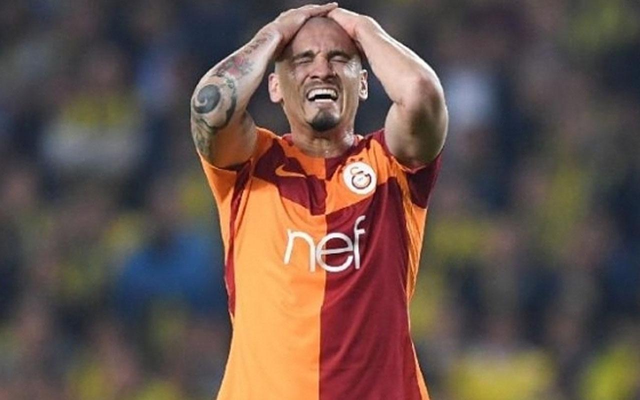 Galatasaray'da krizin yeni adı Maicon oldu