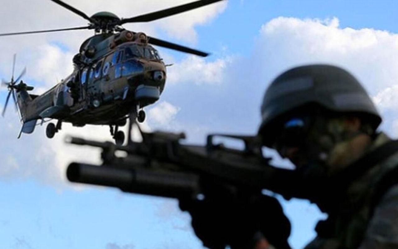 Pençe-Kaplan Operasyonu'nda PKK'lı 9 terörist etkisiz hale getirildi