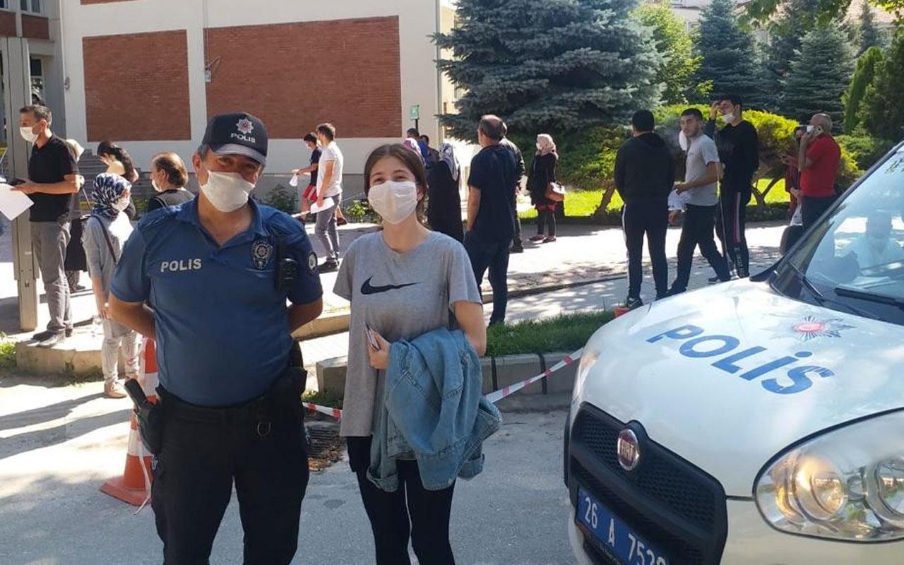 Eskişehir'de bir yıllık emeklerini polis ağabeyleri kurtardı