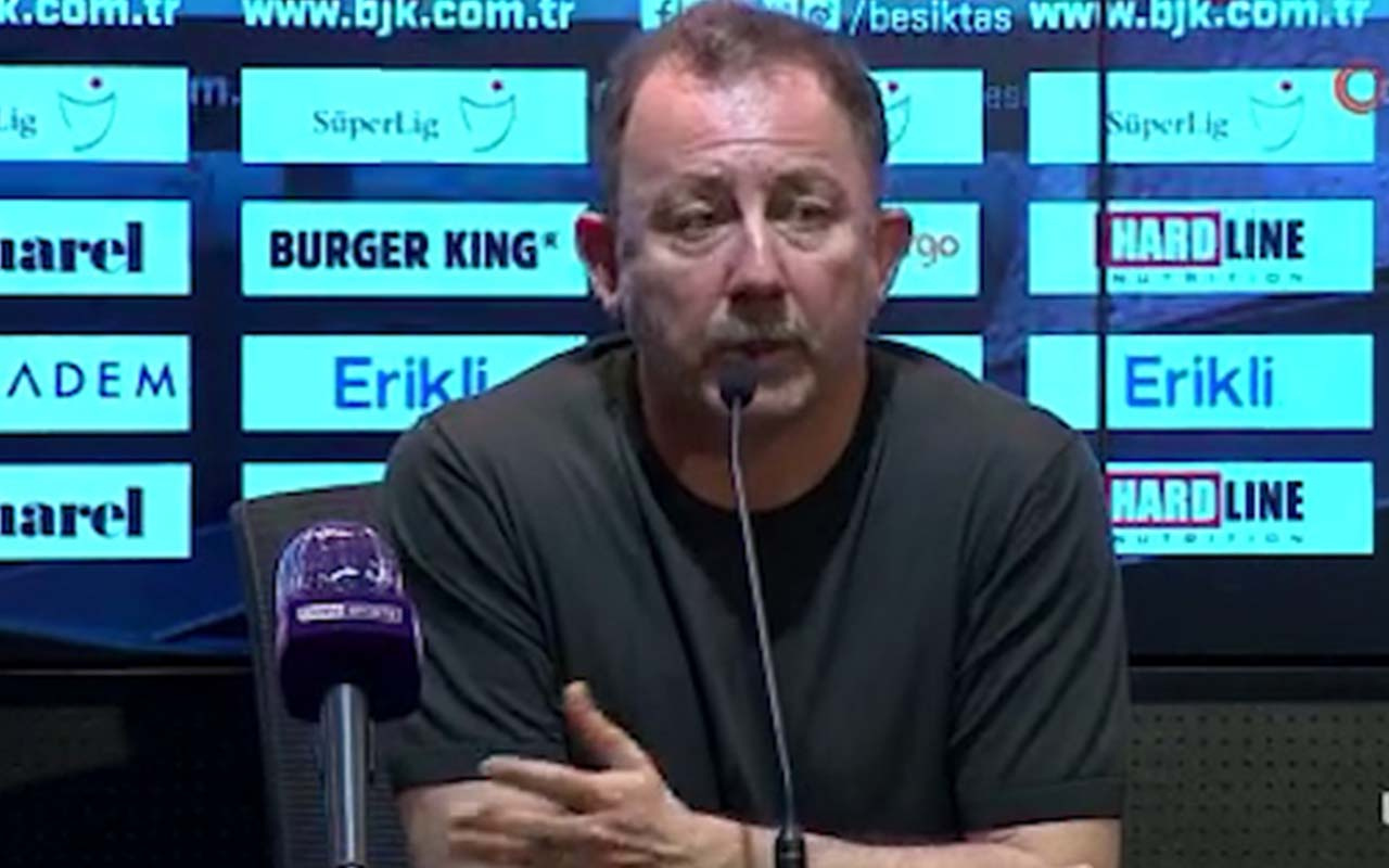 """Sergen Yalçın: """"Rakibin 10 kişi kalması işimizi kolaylaştırdı"""""""
