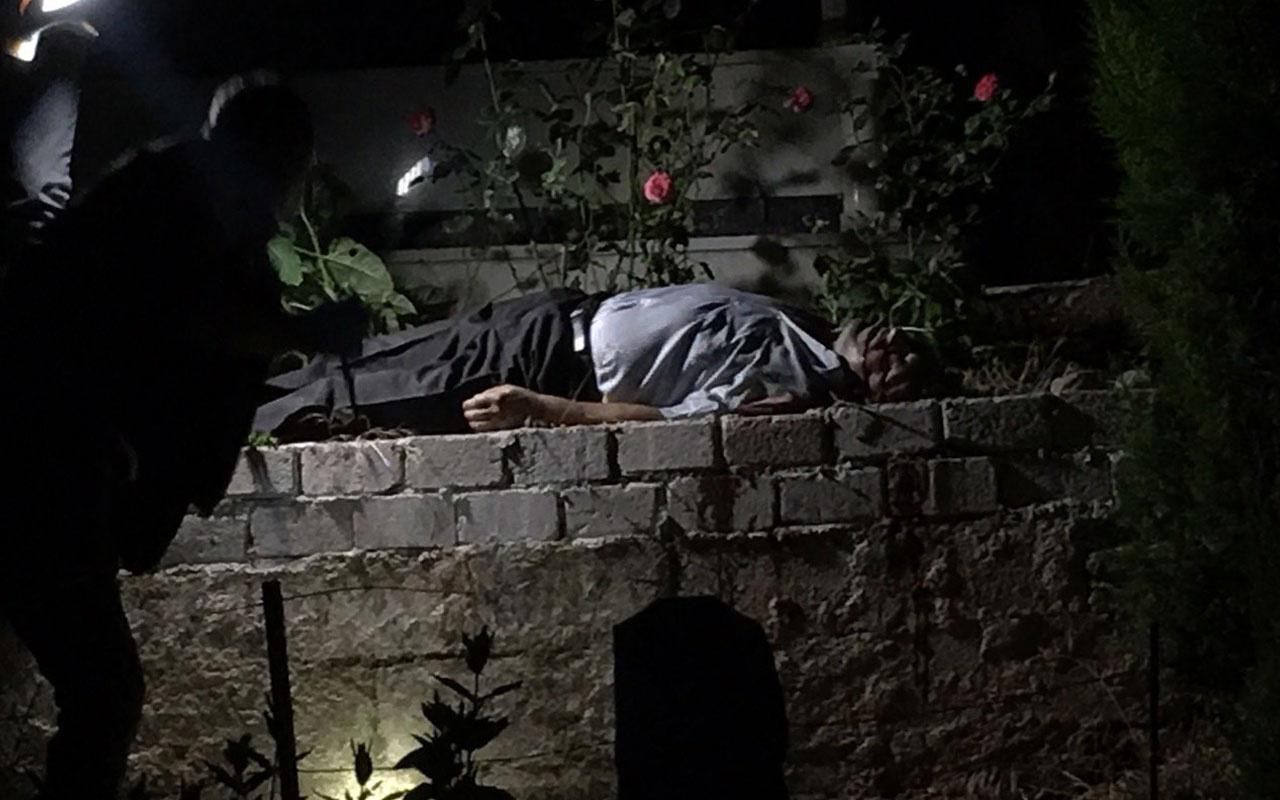 Yer Aydın! Eşinin mezarı başında intihar etti olayı gören polis dondu