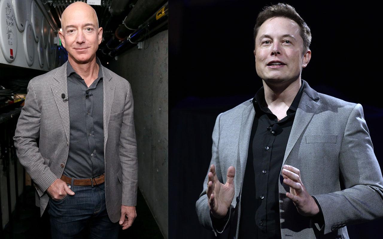 Elon Musk Amazon kurucusu Jeff Bezos'u hedef aldı! O bir taklitçi