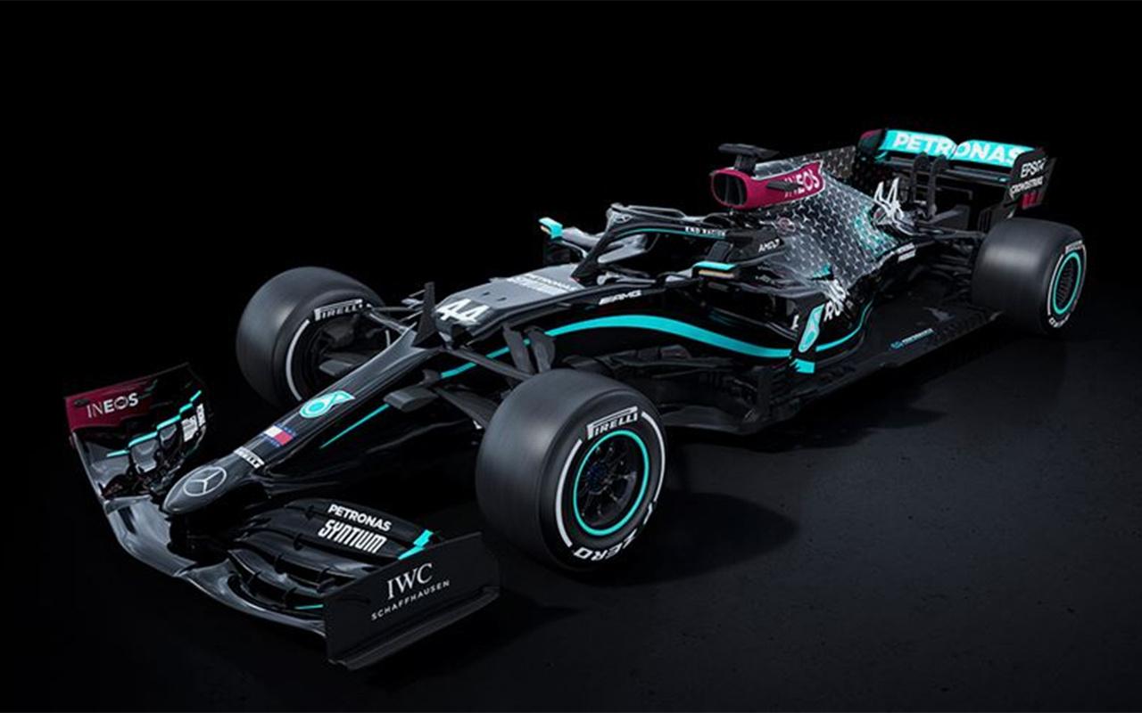 Mercedes ırkçılığa karşı Formula 1'de siyah araçla yarışacak