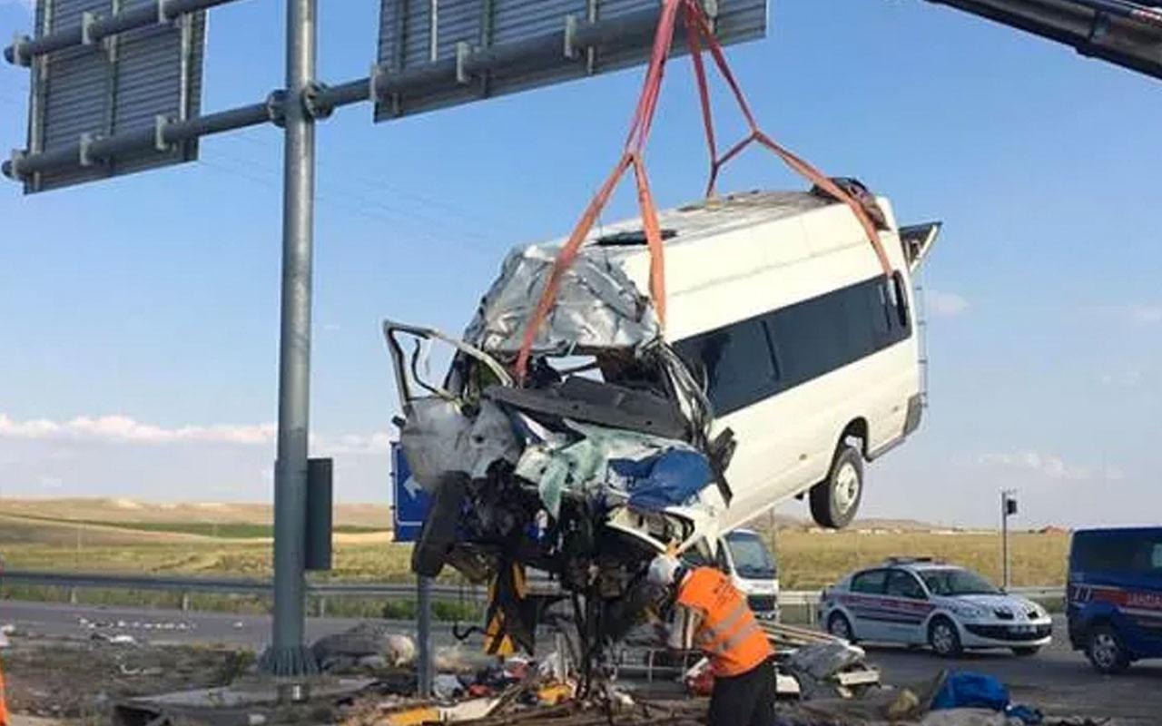Konya'da 7 kişinin öldüğü kazada TIR şoförü tutuklandı