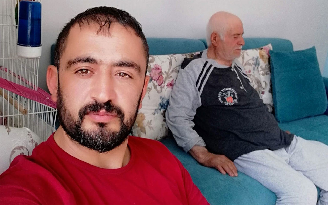Kayseri'de babasını koronavirüsten kaybetti oğlu böyle konuştu