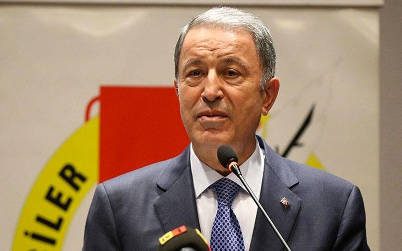 Hulusi Akar Pençe-Kaplan operasyonunda etkisiz hale getirilen terörist sayısını açıkladı