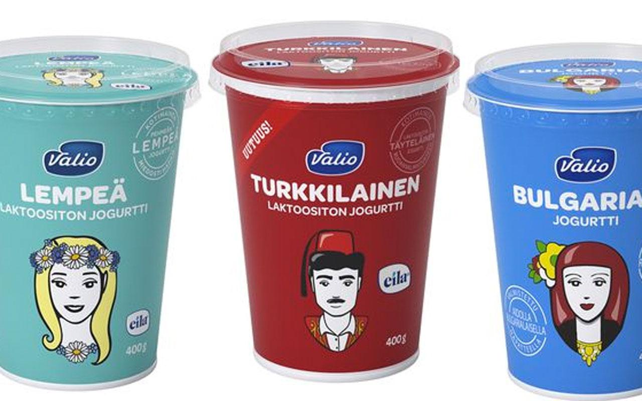 Finlandiyalı firma Türk yoğurdunun üzerindeki 'fesli adam' resmini değiştiriyor