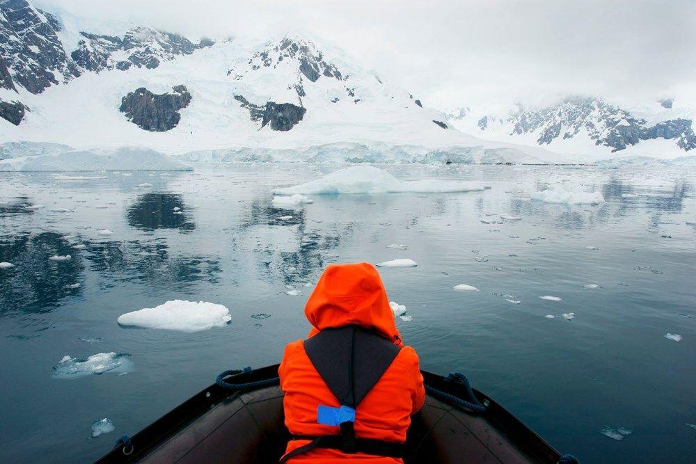 Güney Kutbu'nun Dünya'nın geri kalanından üç kat daha hızlı ısındığı öğrenildi