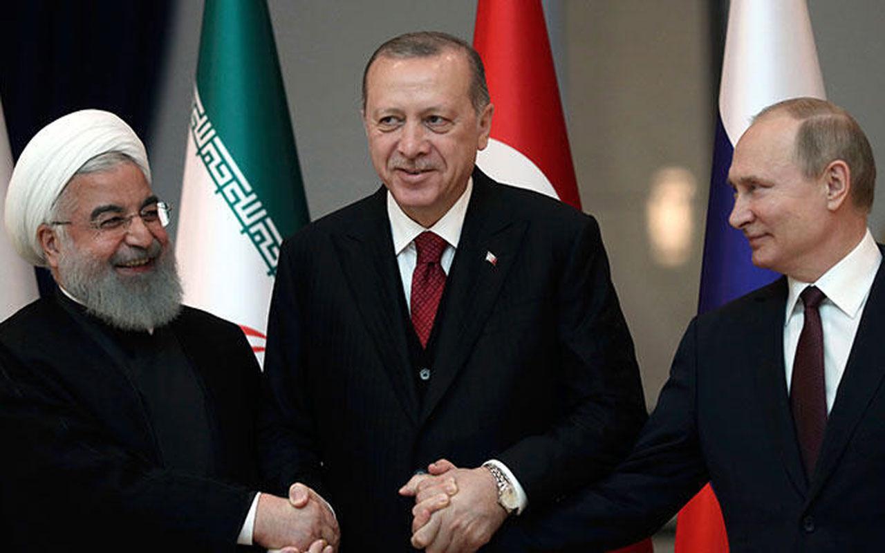 Türkiye-Rusya-İran üçlü konferansı toplanıyor