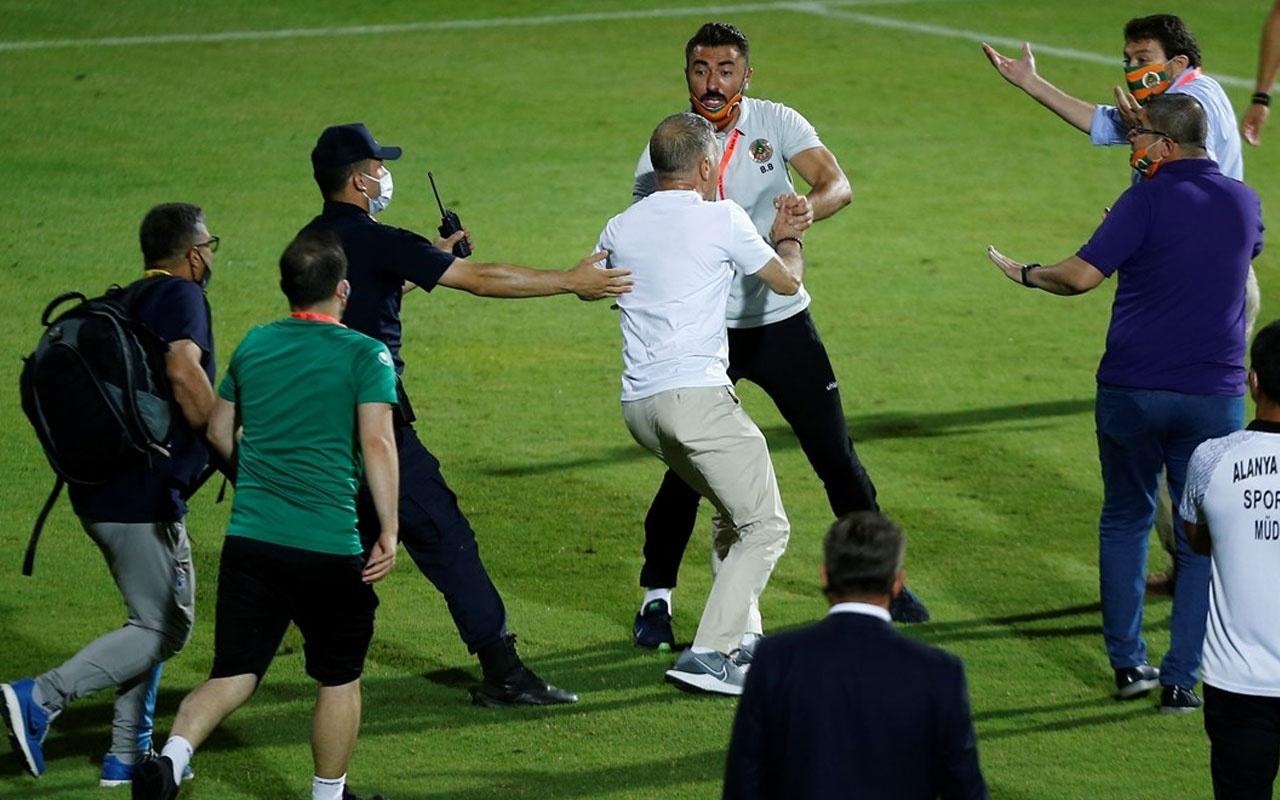 Olaylı Alanyaspor-Trabzonspor maçının cezaları belli oldu