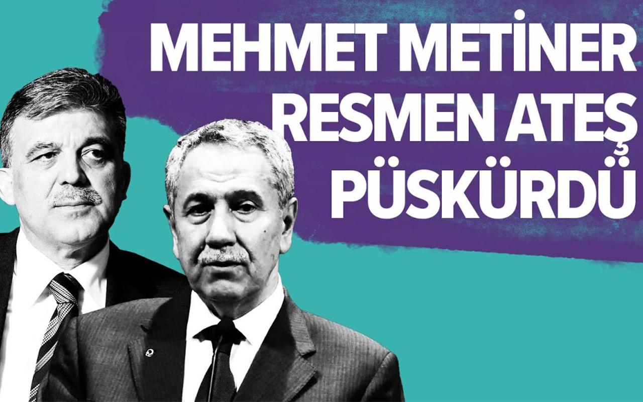 Mehmet Metiner'den Bülent Arınç'a FETÖ suçlaması