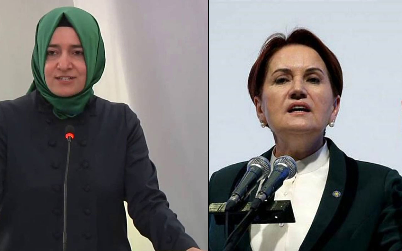 Meral Akşener ve Kaya'dan Albayrak'a destek