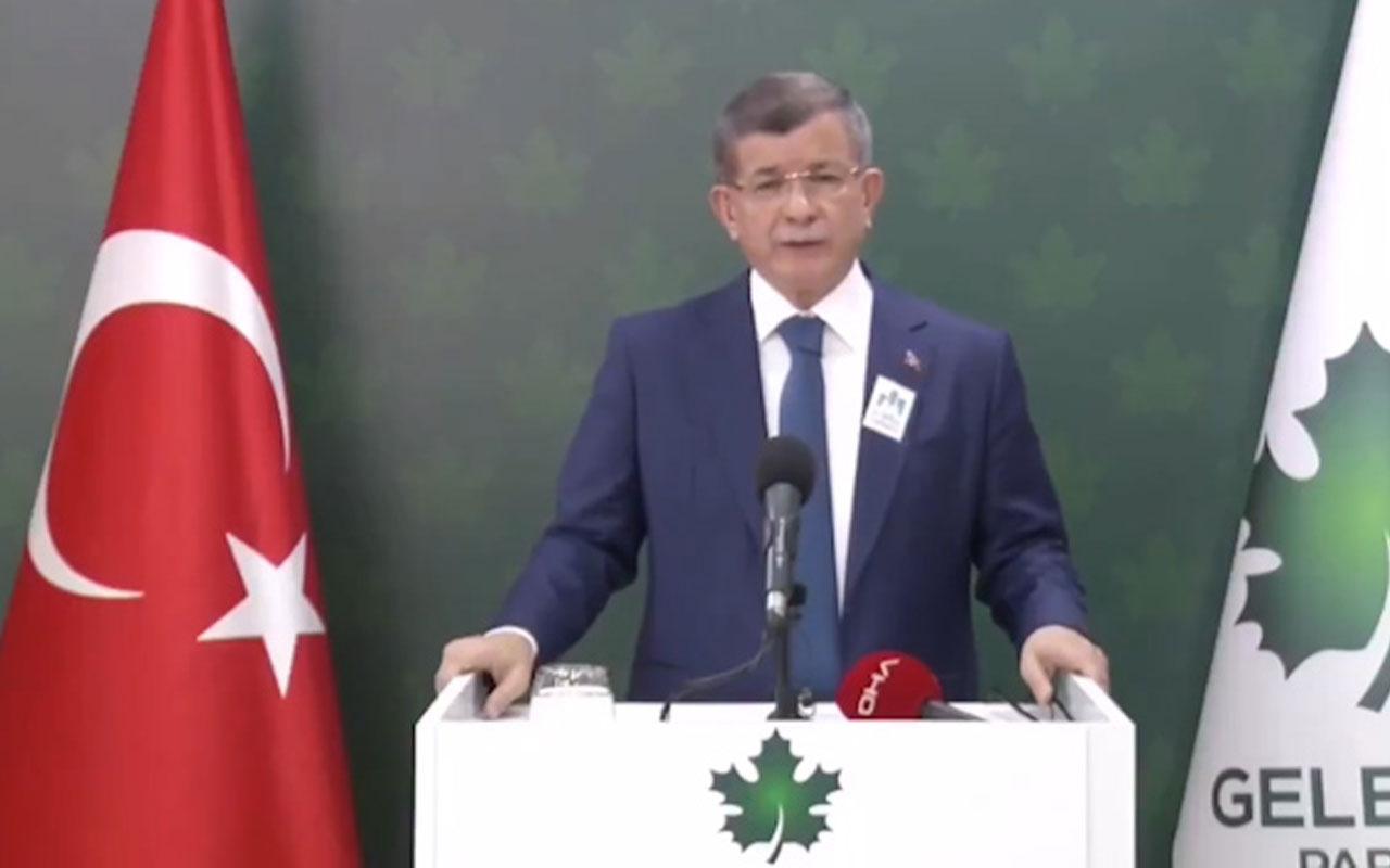 Ahmet Davutoğlu Şehir Üniversitesi üzerinden Erdoğan'a çok sert yüklendi!