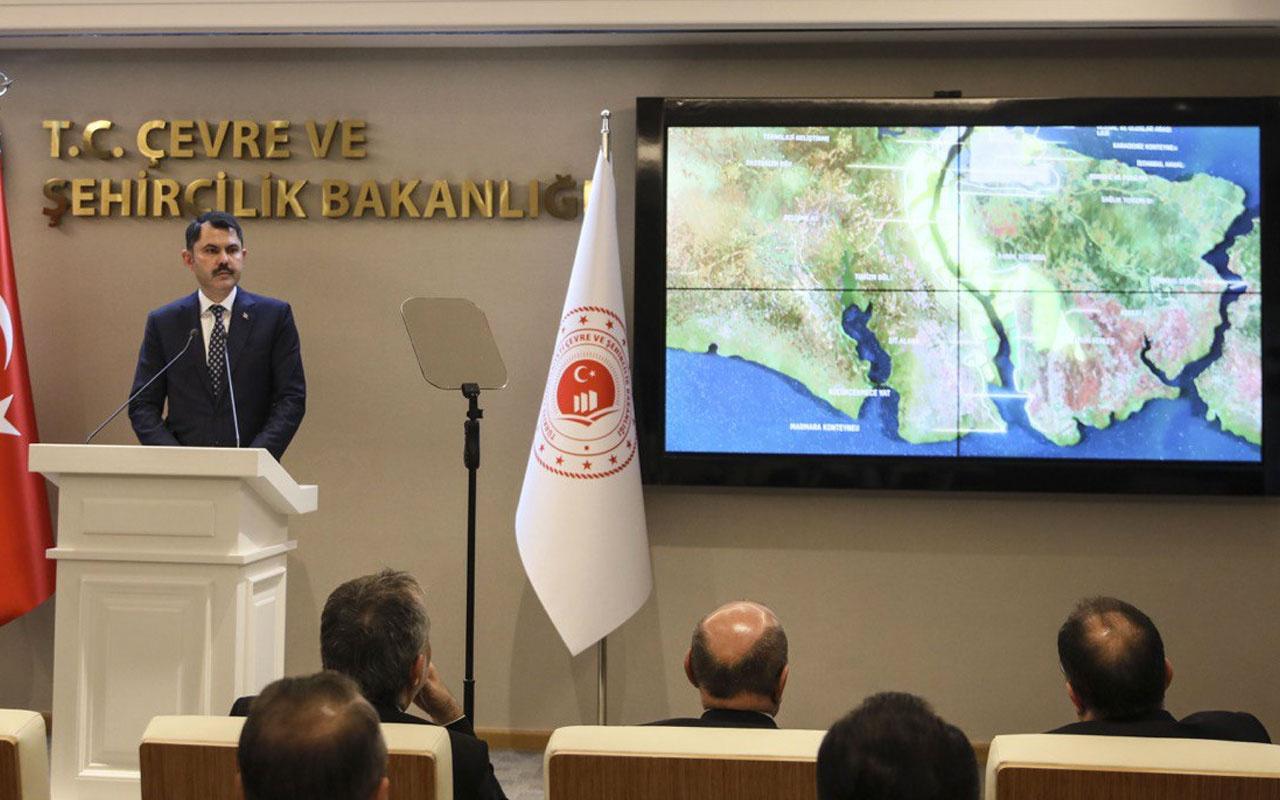 Kanal İstanbul'da güzergahlar ve birçok yeni adım belirlendi Bakan Kurum onayladı