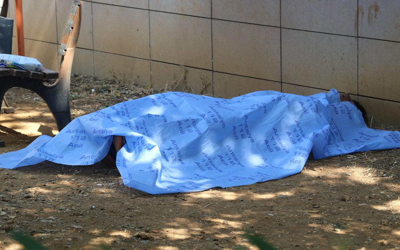 Antalya'da ölüm 40 yaşında hastane bahçesinde geldi